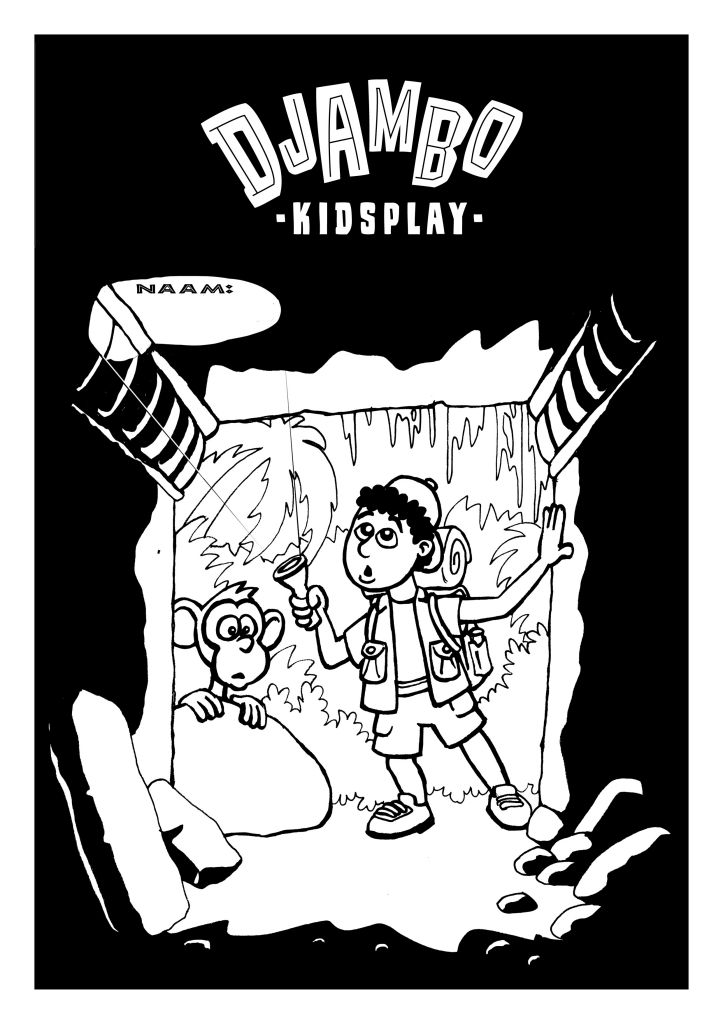 Kleurplaat 2 Djambo Kidsplay