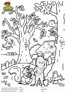 Herfst Kleurplaat Djambo Kidsplaydjambo Kidsplay